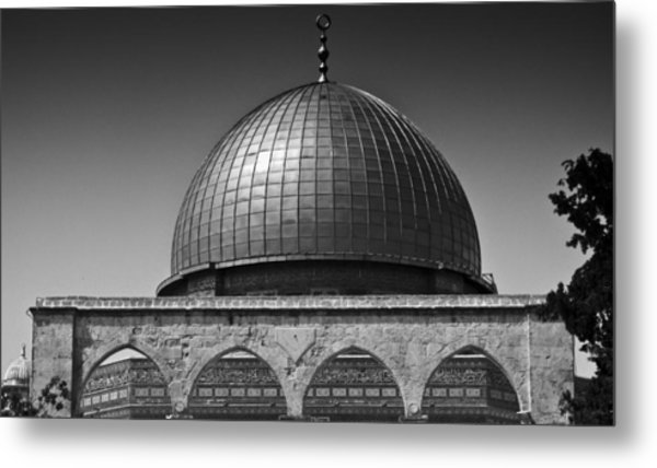 Dome Of The Rock Metal Print by Amr Miqdadi