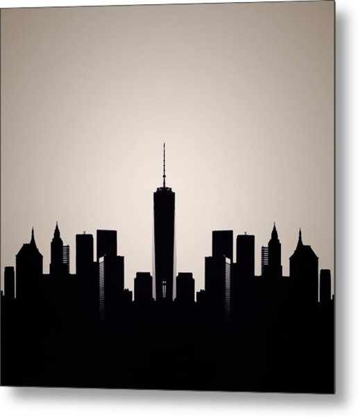 Downtown Deco Metal Print