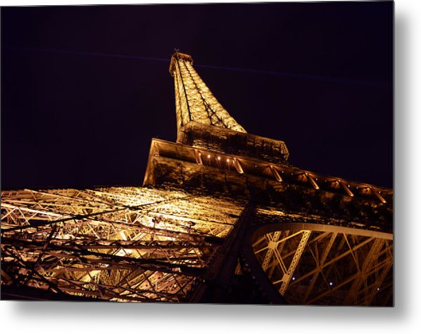 Eiffel Tower Paris France Metal Print