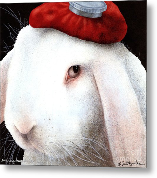 Even My Hare Hurts... Metal Print by Will Bullas