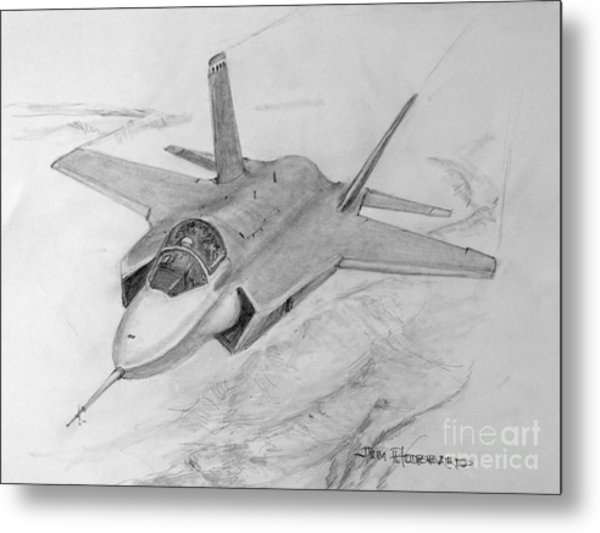 F-35 Joint Strike Fighter Metal Print