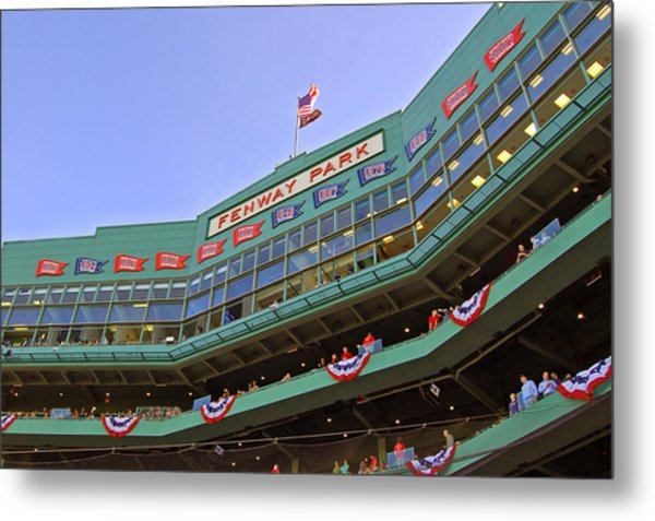 Fenway's 100th Metal Print
