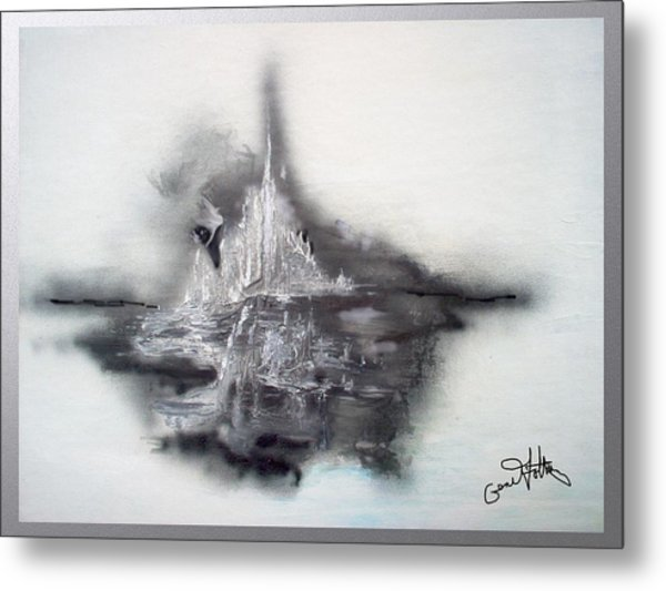 Floating Image Metal Print