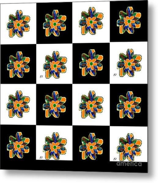 Flower Dance 2 Metal Print