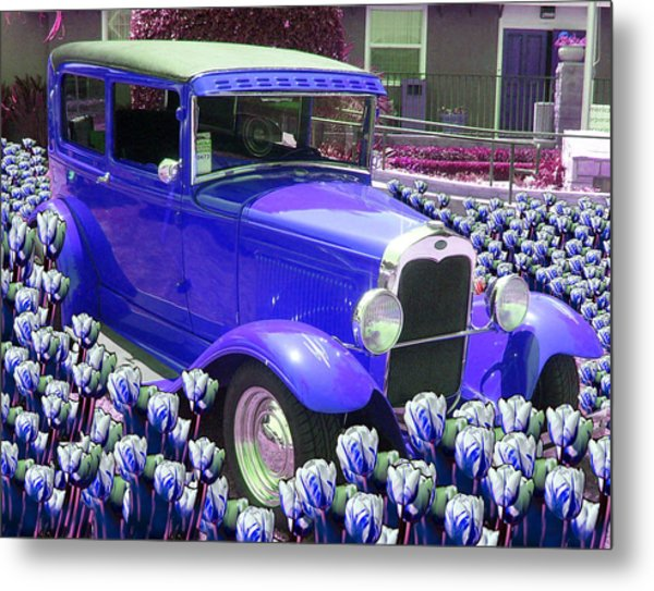 Ford Metal Print by Moshfegh Rakhsha