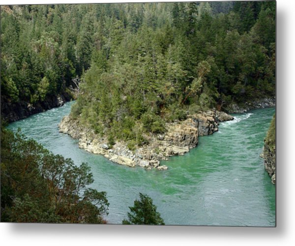 Forks Of The Smith River Metal Print