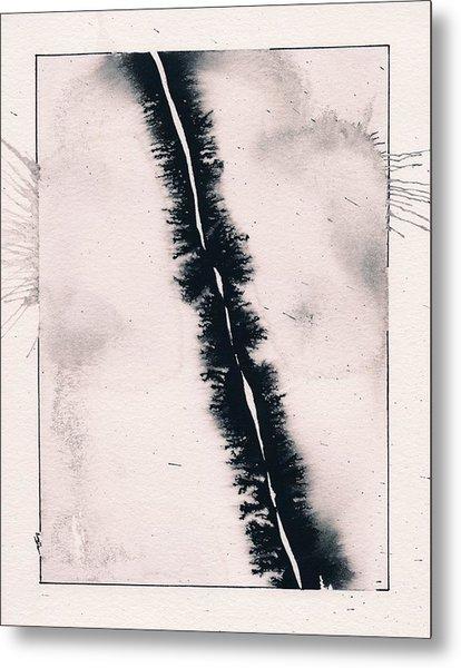 Fracture Metal Print