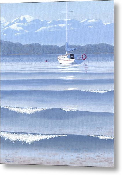 From The Beach Metal Print