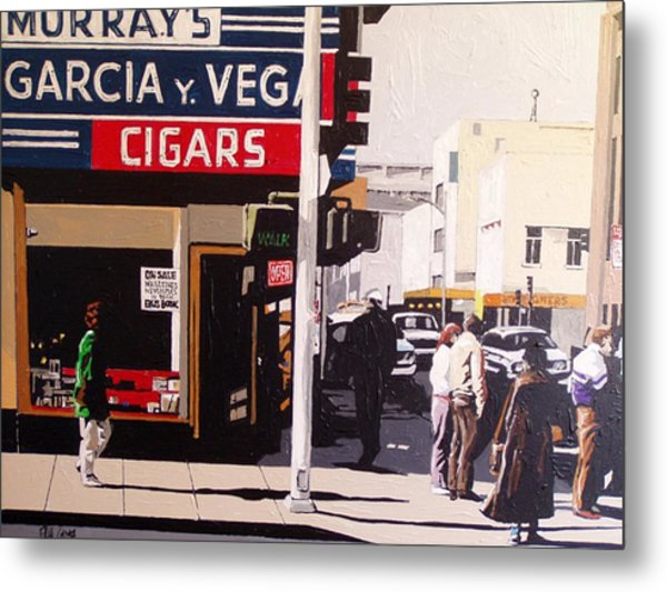 Garcia Y Vega Metal Print by Paul Guyer