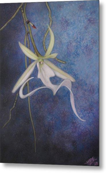Ghost Orchid II Metal Print