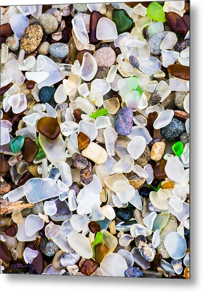Metal Print featuring the photograph Glass Beach by Priya Ghose