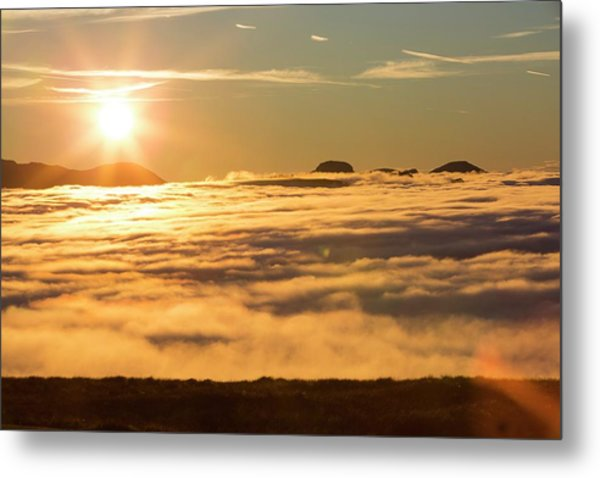 Great Gable From Red Screes Metal Print