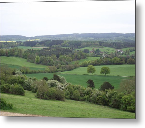 Green And Pleasant Land Metal Print