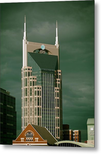 Icons Of Nashville Metal Print