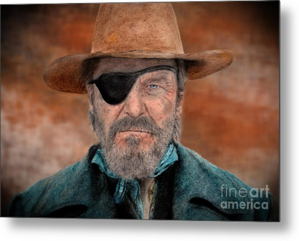 Jeff Bridges As U.s. Marshal Rooster Cogburn In True Grit  Metal Print