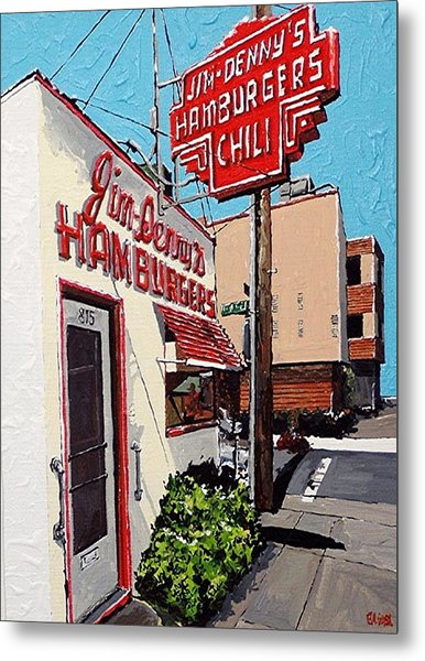 Jim Denny's Metal Print by Paul Guyer