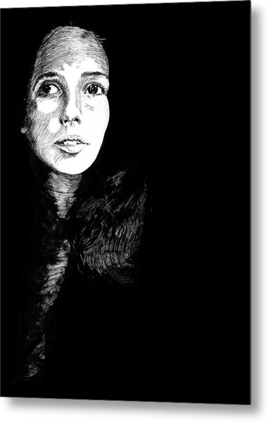 Joan Metal Print