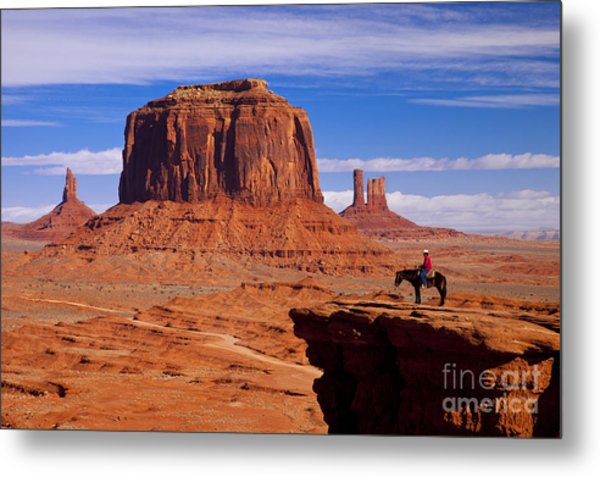 John Ford Point Monument Valley Metal Print