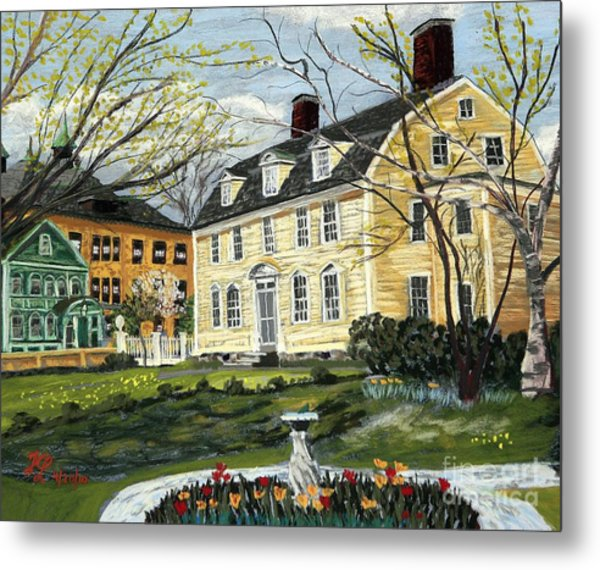 John Paul Jones House Metal Print