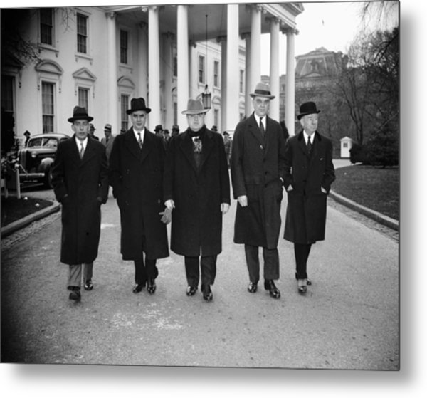 Labor Leaders, 1938 Metal Print by Granger