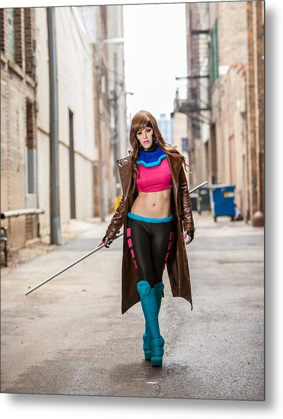 Lady Gambit  Metal Print by Andreas Schneider