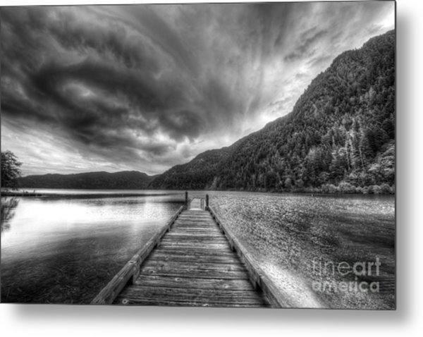 Lake Crescent In Olympic National Park Metal Print
