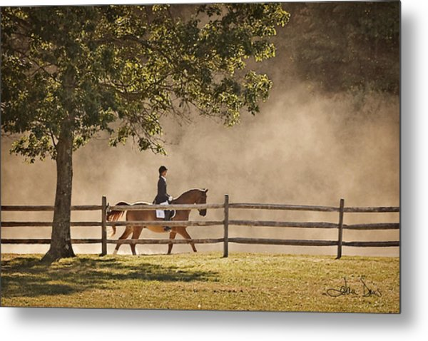 Last Ride Of The Day Metal Print
