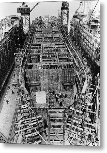 Liberty Ship, 1943 Metal Print by Granger