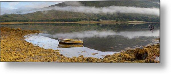 Loch Eil Reflections Metal Print
