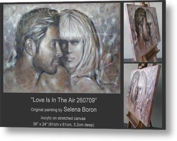 Love Is In The Air 260709 Metal Print