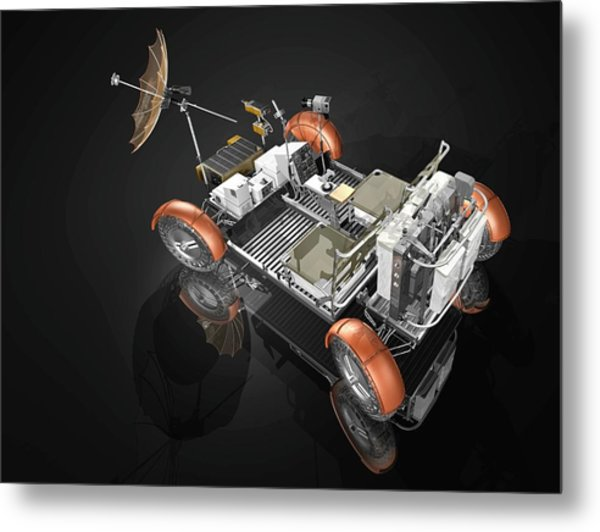 Lunar Roving Vehicle Metal Print