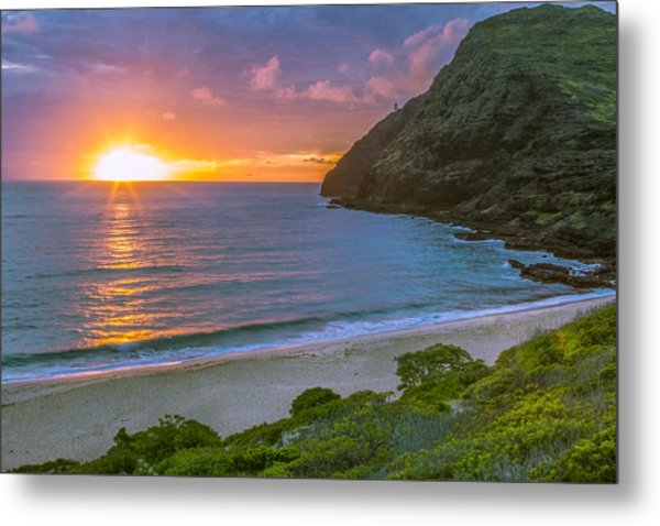 Makapuu Sunrise 1 Metal Print