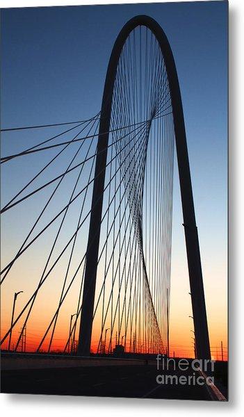 Margaret Hunt Hill Bridge Metal Print