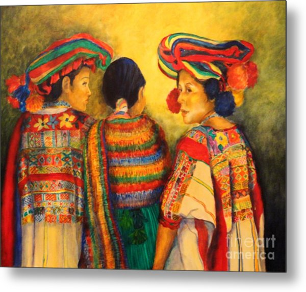 Mexican Impression Metal Print