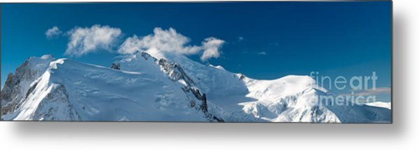 Mont Blanc Massiv Metal Print