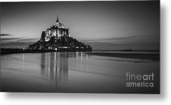 Mont-st-michel Normandy France Metal Print