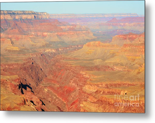 Morning Colors Of The Grand Canyon Inner Gorge Metal Print