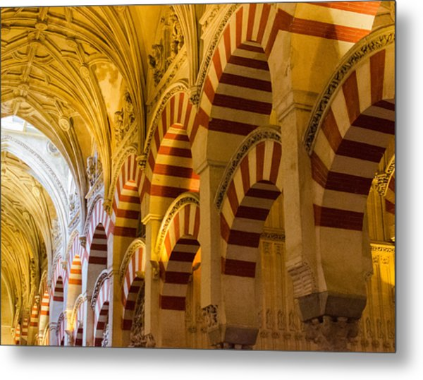 Mosque Cathedral Of Cordoba  Metal Print by Andrea Mazzocchetti