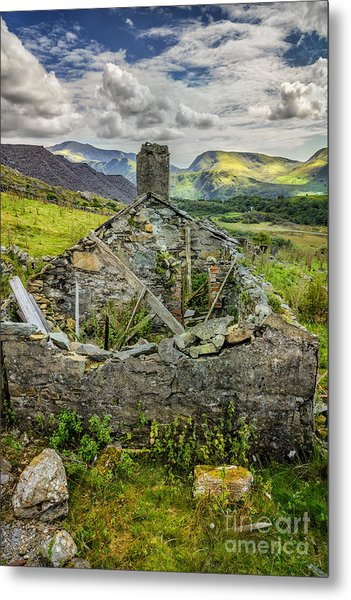 Mountain View Metal Print