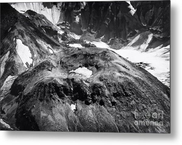 Mt St. Helen's Crater Metal Print