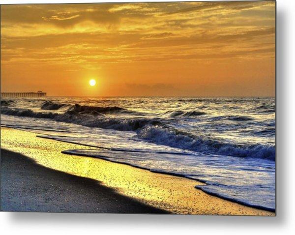 Myrtle Beach South Carolina Sunrise Metal Print