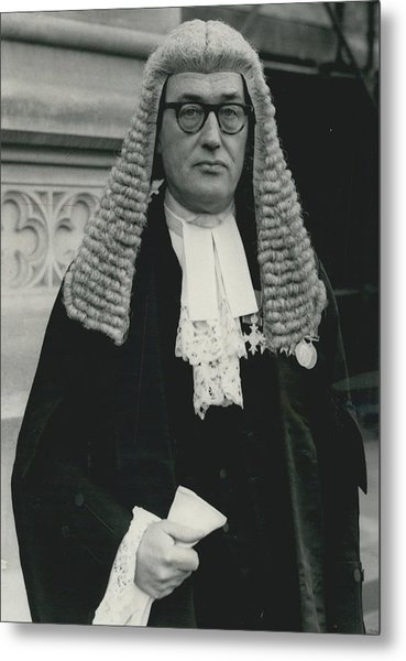 New Queen�s Counsel Sworn - In At House Of Lords Metal Print by Retro Images Archive