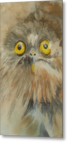 Night Eyes Metal Print