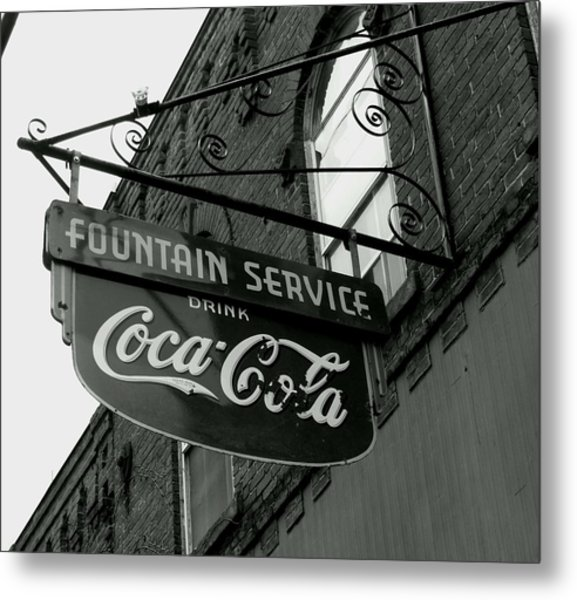 Old Sign Metal Print