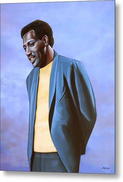 Otis Redding Painting Metal Print