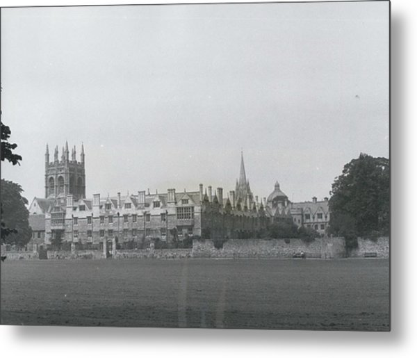 Oxford University, England Metal Print by Retro Images Archive