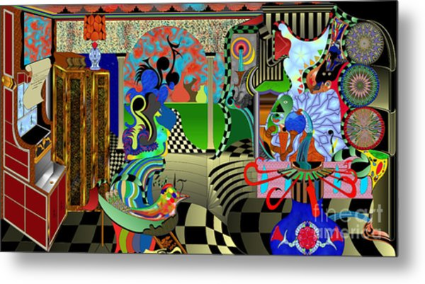 Paint Your World Metal Print