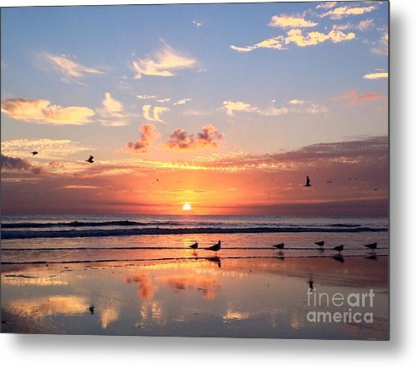 Painted Sky Metal Print