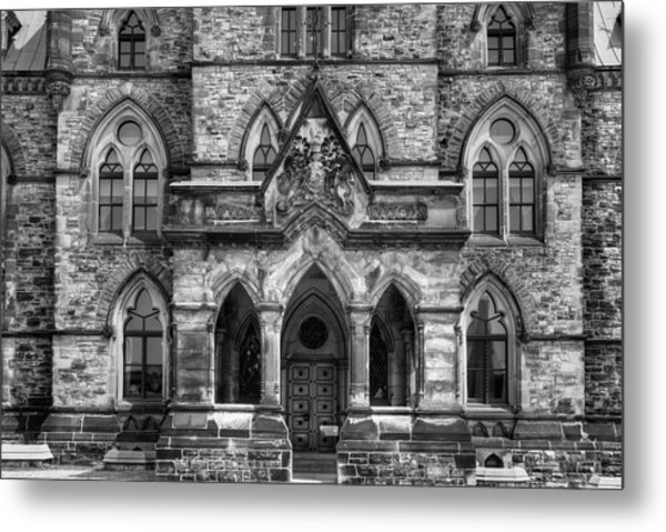 Parliament Buildings  Ottawa, Ontario Metal Print