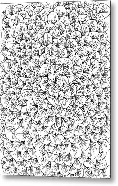 Petals Metal Print by Yvette Pichette